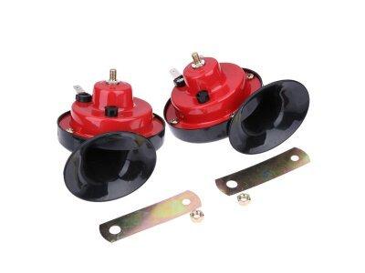 2-delni komplet električnih zvočnih siren za vozila, 105 dB