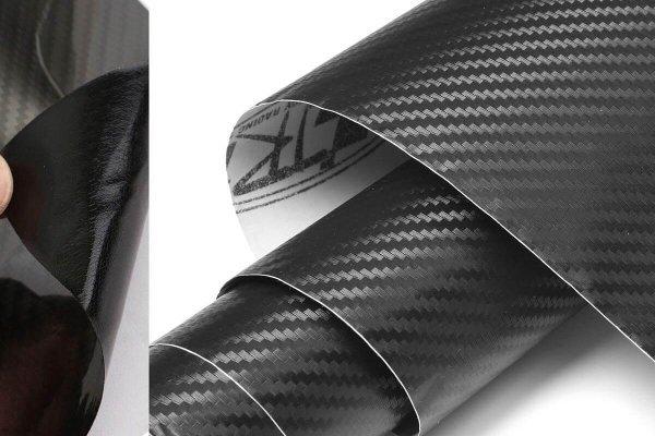 3D Karbonska folija - črna 100x153cm