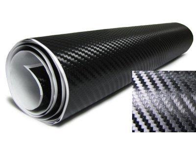 3D Karbonska folija - crna 100x153cm