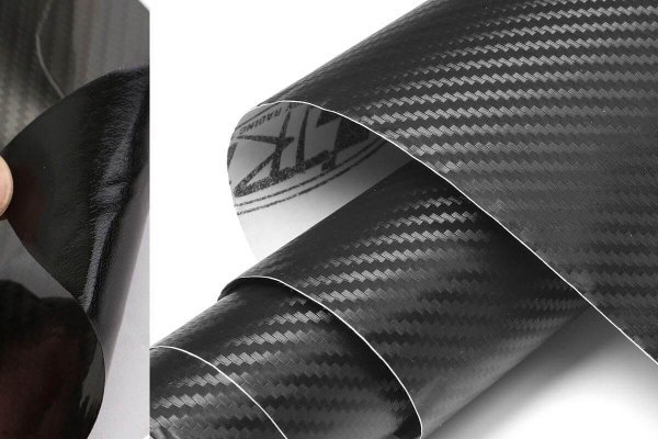 3D Karbonska folija - črna 150x153cm