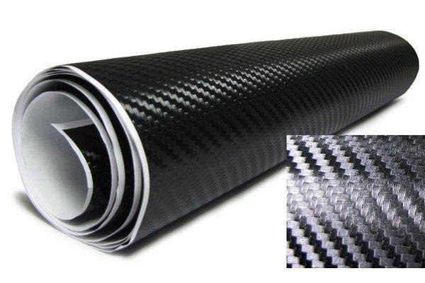 3D Karbonska folija - crna 150x153cm