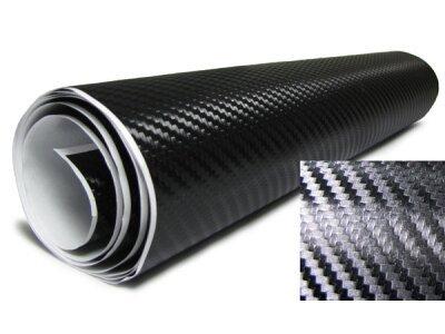 3D Karbonska folija - črna 200x153cm