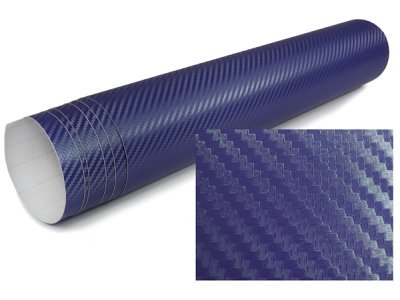3D Karbonska folija - modra 30x153cm