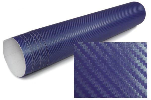 3D Karbonska folija - plava 30x153cm