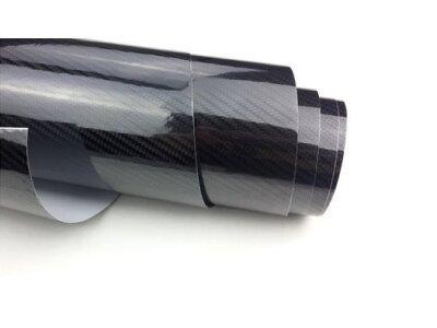 5D Karbonska folija - crna + sjajna, 50x153cm