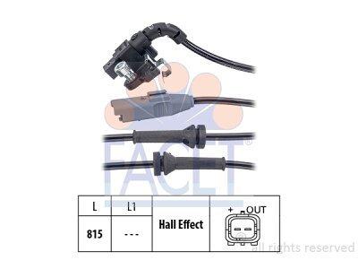 ABS senzor  21.0063 - Citroen C4 04-10