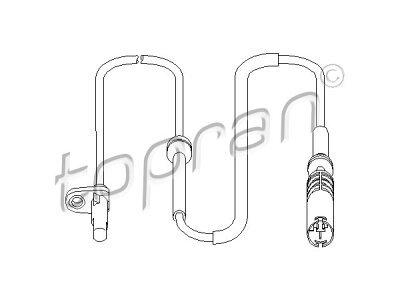 ABS senzor BMW X5 99-07, 501 463 755