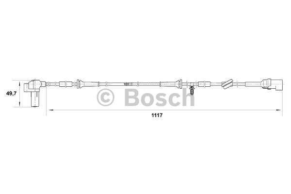 ABS senzor Ford Transit 00-06
