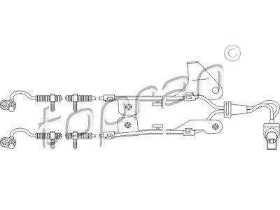 ABS senzor Mazda 2 03-07