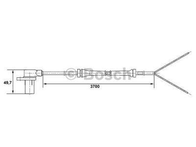 ABS senzor Mercedes Vito 96-03 (A 638 542 04 17)