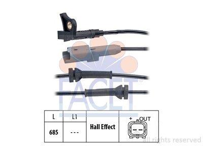 ABS senzor Peugeot 5008 09-13