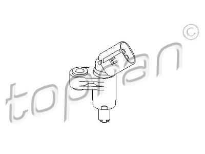 ABS senzor Seat Arosa 97-05, desno