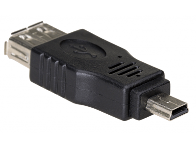 Adapter Akyga USB/miniUSB