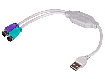 Adapter Akyga USB/PS/2
