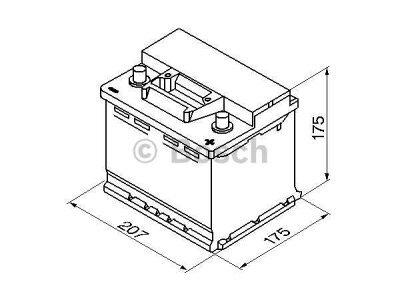 Akkumulator Bosch S3 41 Ah R+