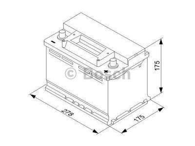 Akkumulator Bosch S3 70 Ah R+