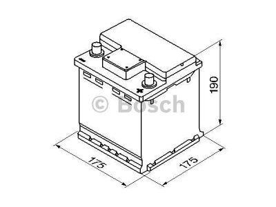 Akkumulator Bosch S4 42 Ah R+