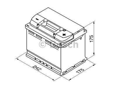 Akkumulator Bosch S4 60 Ah R+
