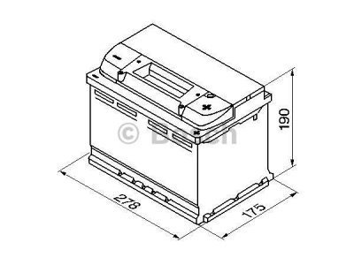 Akkumulator Bosch S4 74 Ah R+