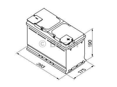 Akkumulator Bosch S5 110 Ah R+