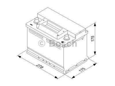 Akumulator Bosch S3 70 Ah D+