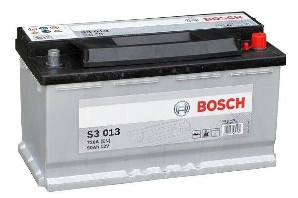 Akumulator Bosch S3 90 Ah D+