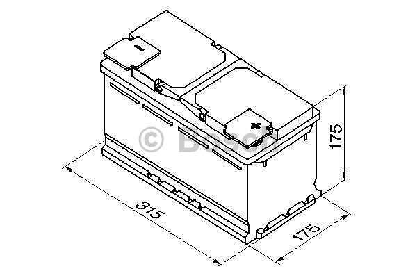 Akumulator Bosch S4 80 Ah D+