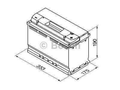 Akumulator Bosch S4 95 Ah D+