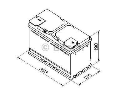Akumulator Bosch S5 110 Ah D+