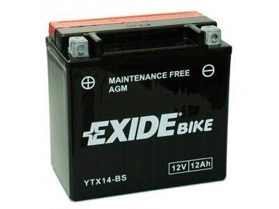Akumulator Exide 12 Ah, YTX14-BS