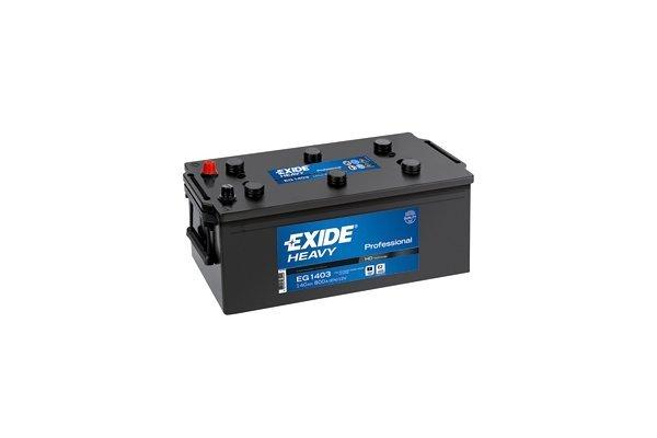 Akumulator Exide 140 Ah L+
