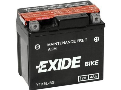 Akumulator Exide 4 Ah, YTX5L-BS