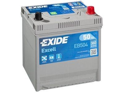 Akumulator Exide 50 Ah D+