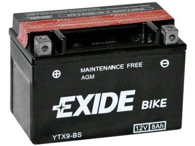 Akumulator Exide 8 Ah, YTX9-BS