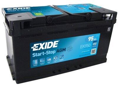 Akumulator Exide AGM 92 Ah D+