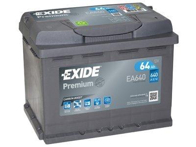 Akumulator Exide EA640 64 Ah D+