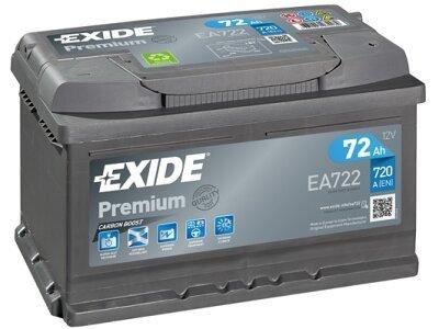 Akumulator Exide EA722 72 Ah D+