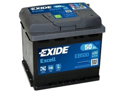 Akumulator Exide EB500 50 Ah D+