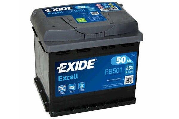 Akumulator Exide EB501 50 Ah L+