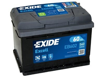 Akumulator Exide EB602 60 Ah D+