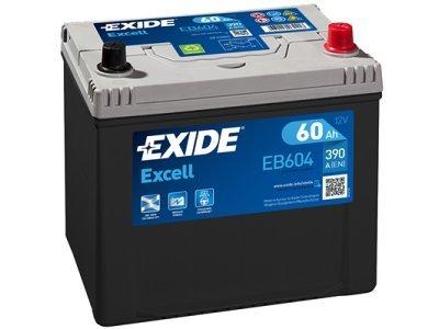 Akumulator Exide EB604 60 Ah D+