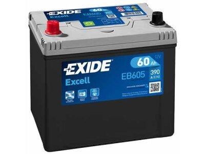 Akumulator Exide EB605 60 Ah L+