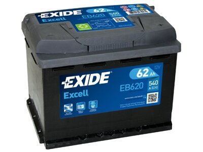 Akumulator Exide EB620 62 Ah D+