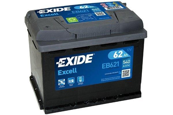 Akumulator Exide EB621 62 Ah L+