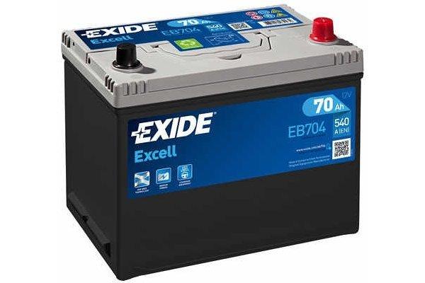 Akumulator Exide EB704 70 Ah D+