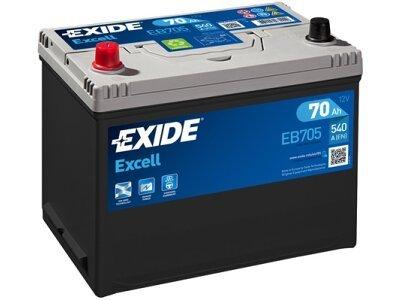 Akumulator Exide EB705 70 Ah L+