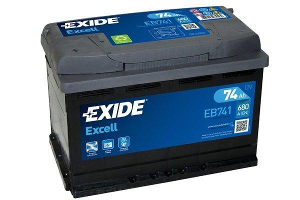 Akumulator Exide EB741 74 Ah L+