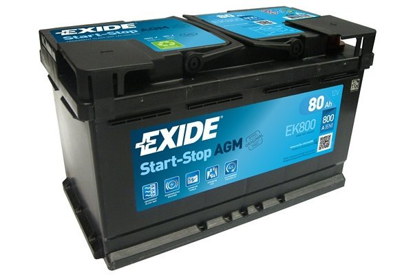 Akumulator Exide EK800 AGM 80 Ah