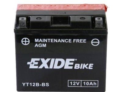 Akumulator Exide YT12B-BS AGM 10 Ah