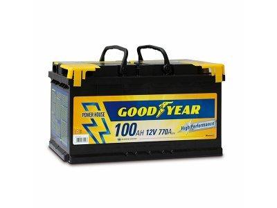 "Akumulator Goodyear 100 AMP BATTERY ""POWER PLUS """